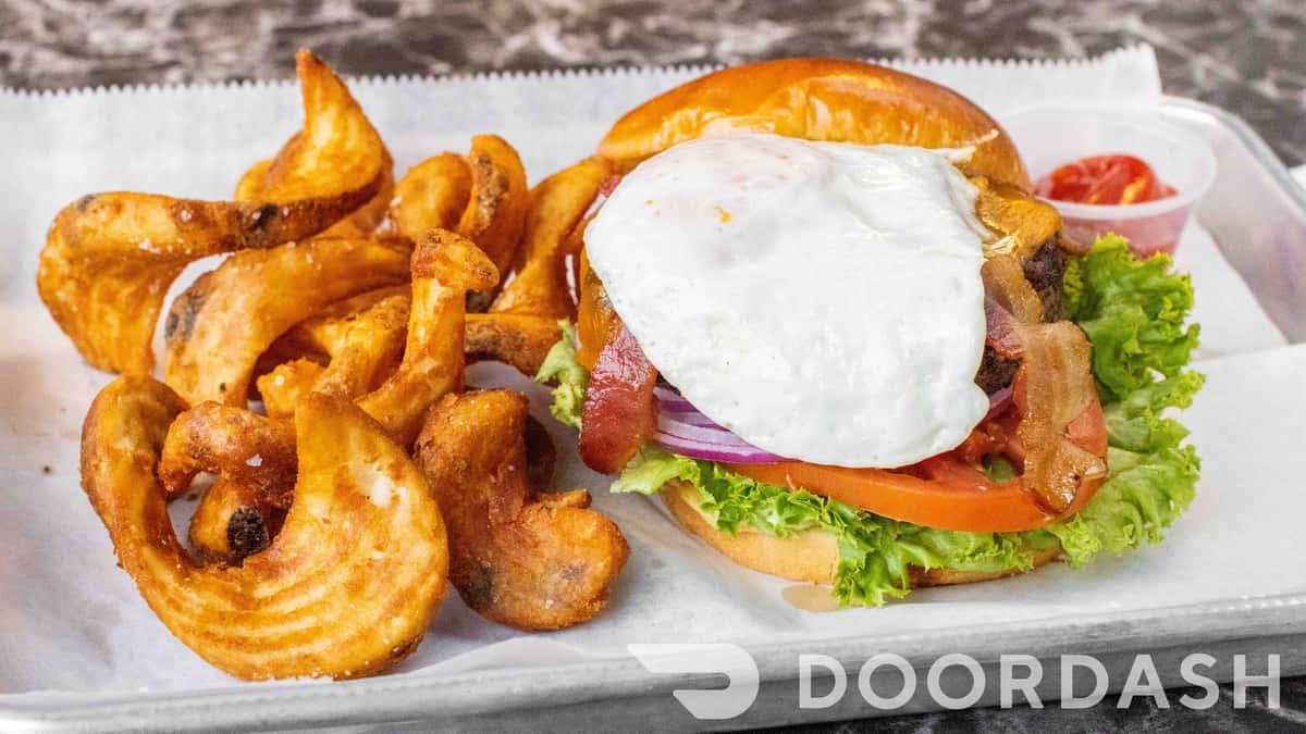 Sixes Farm Burger