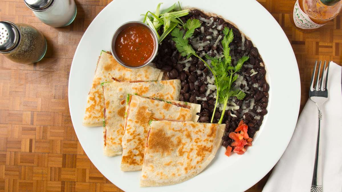 Rising Sun Quesadilla