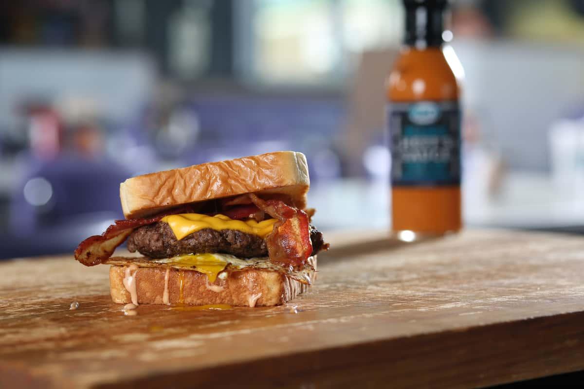 Eggcellent Burger Combo
