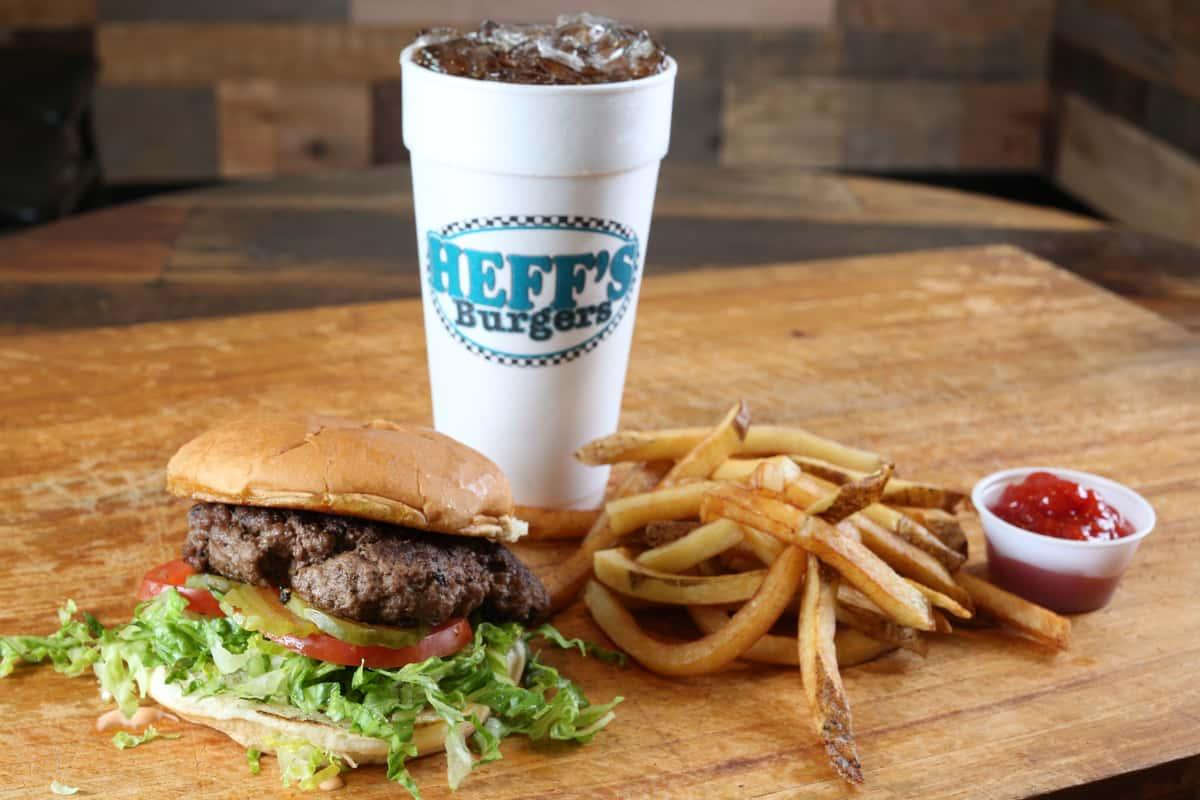 The Heff's Burger Combo