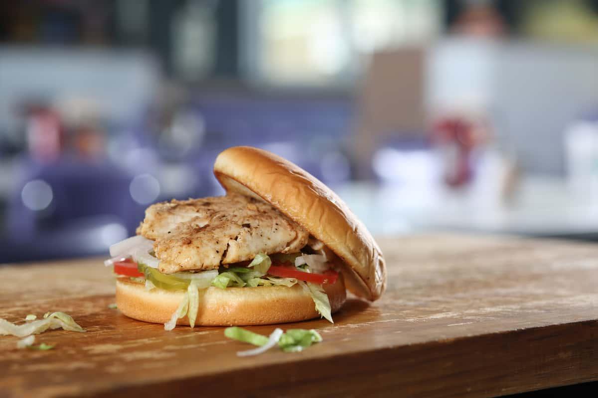 16 Grilled Chicken Sandwich