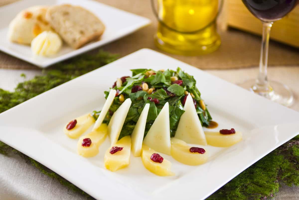 Manchego Pear Salad