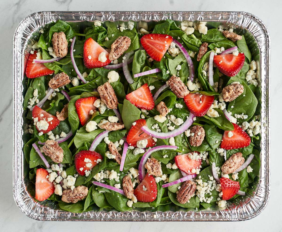Catering Strawberry Gorgonzola Salad