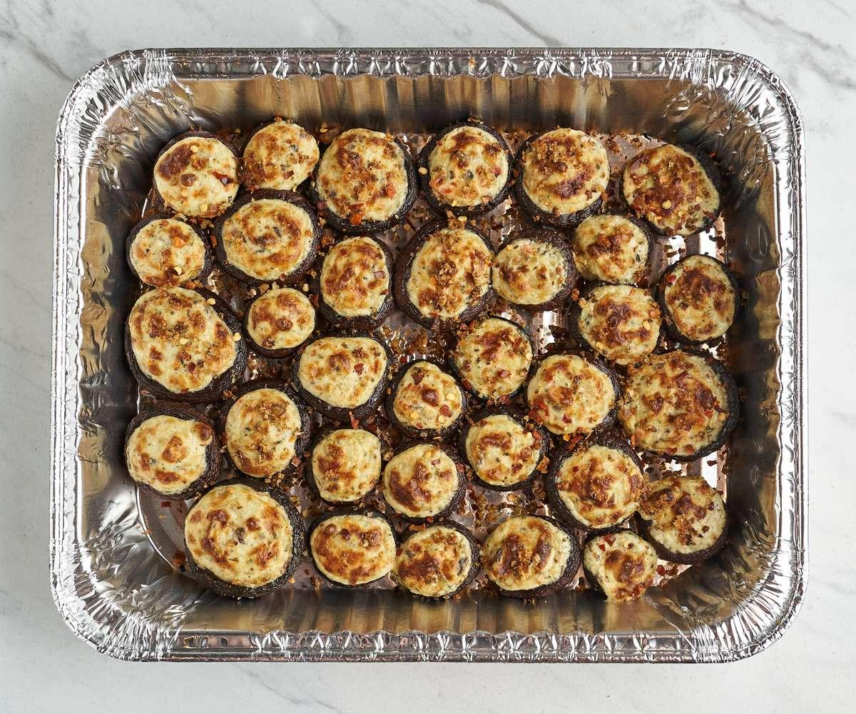 Catering Stuffed Cremini Mushrooms