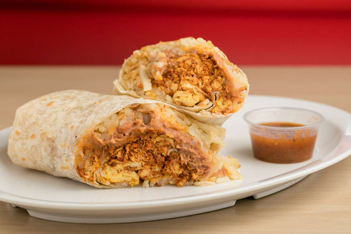 Chorizo & Egg Burrito
