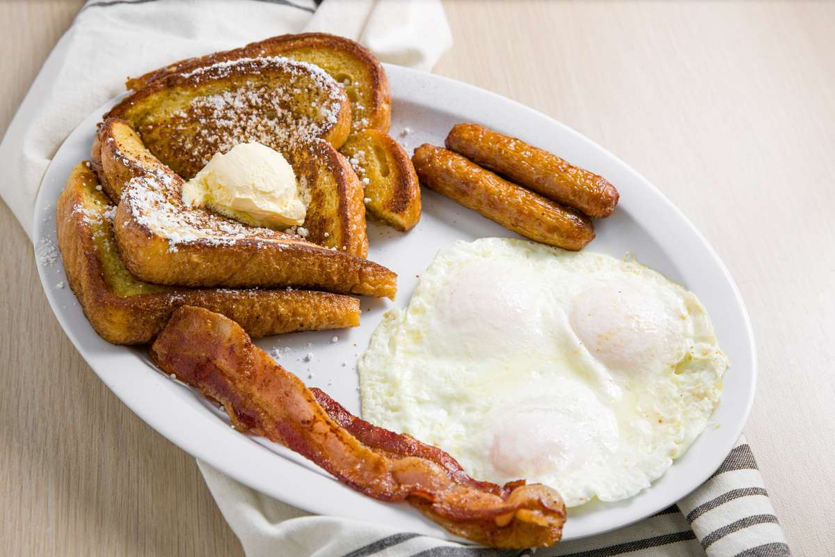 #4 French Toast Plate*