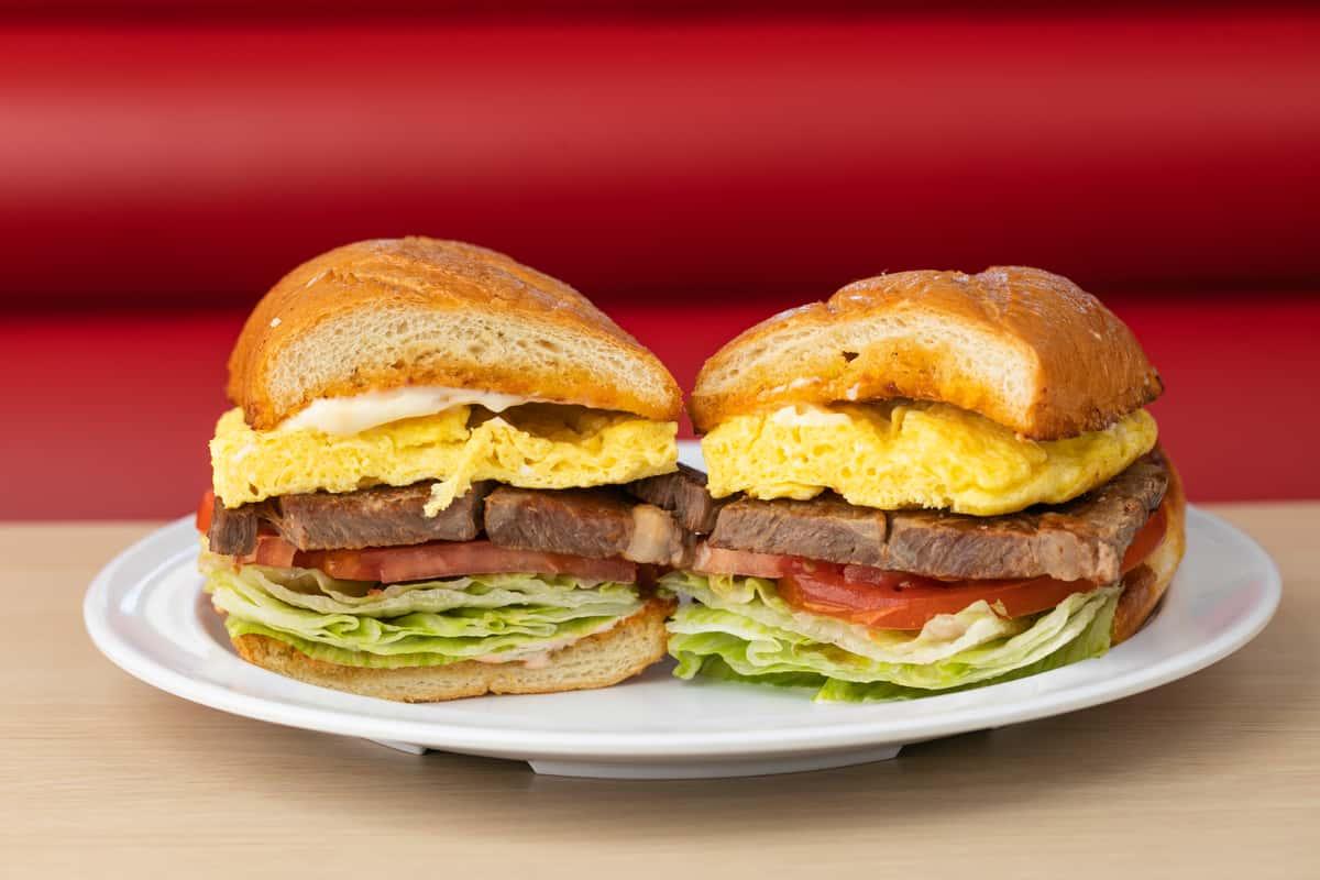 Steak & Egg Sandwich*