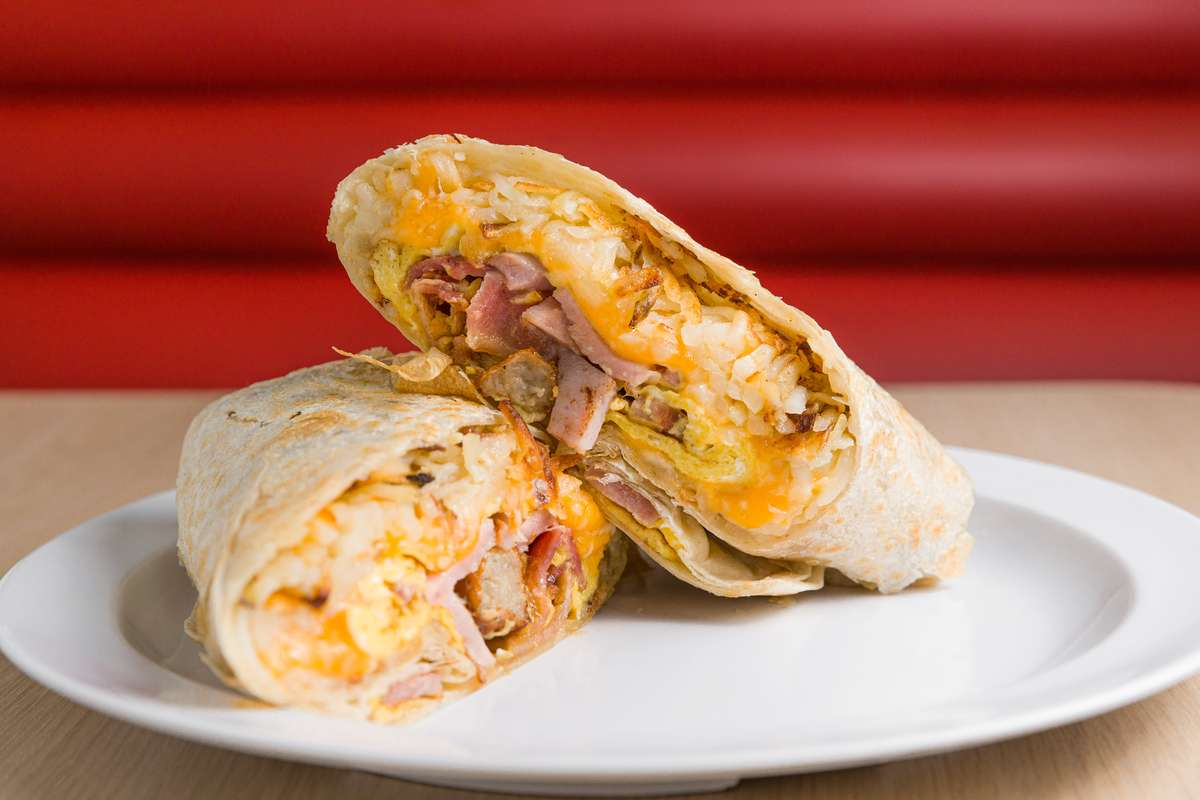 #1 Breakfast Burrito