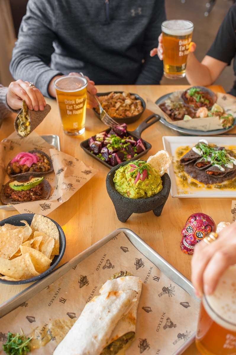 tacos and beer