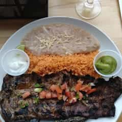 Sundevil Carne Asada Steak Plate