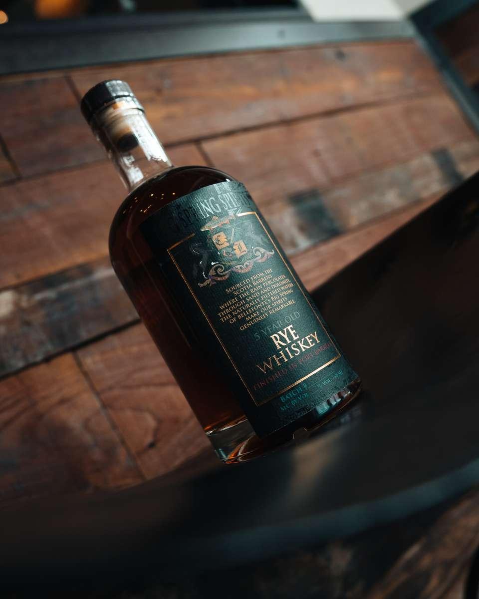 Port-Finished Aged Rye Whiskey