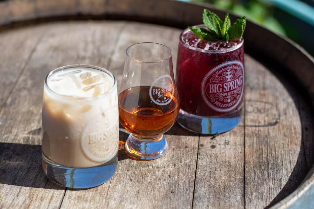 Big Spring Spirits Cocktails