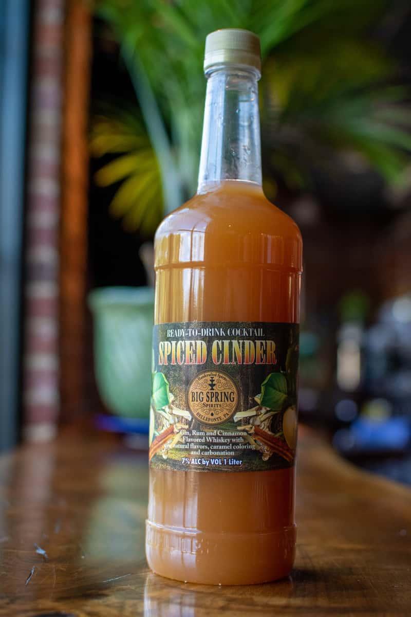 Mulled Gin Cider/Spiced Cinder