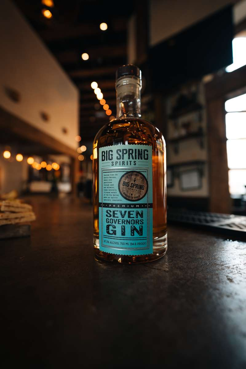 Seven Governors' Golden Gin