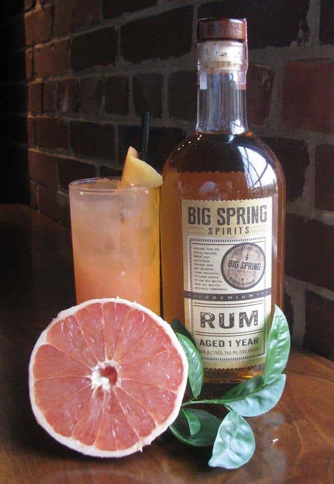 Ruby Rum Fizz