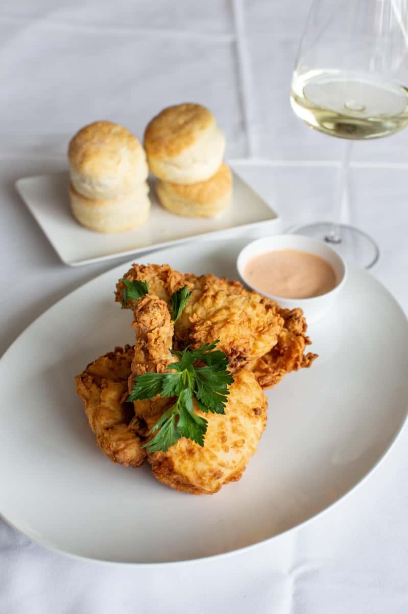 Sunday - Fried Chicken & Scratch Biscuits
