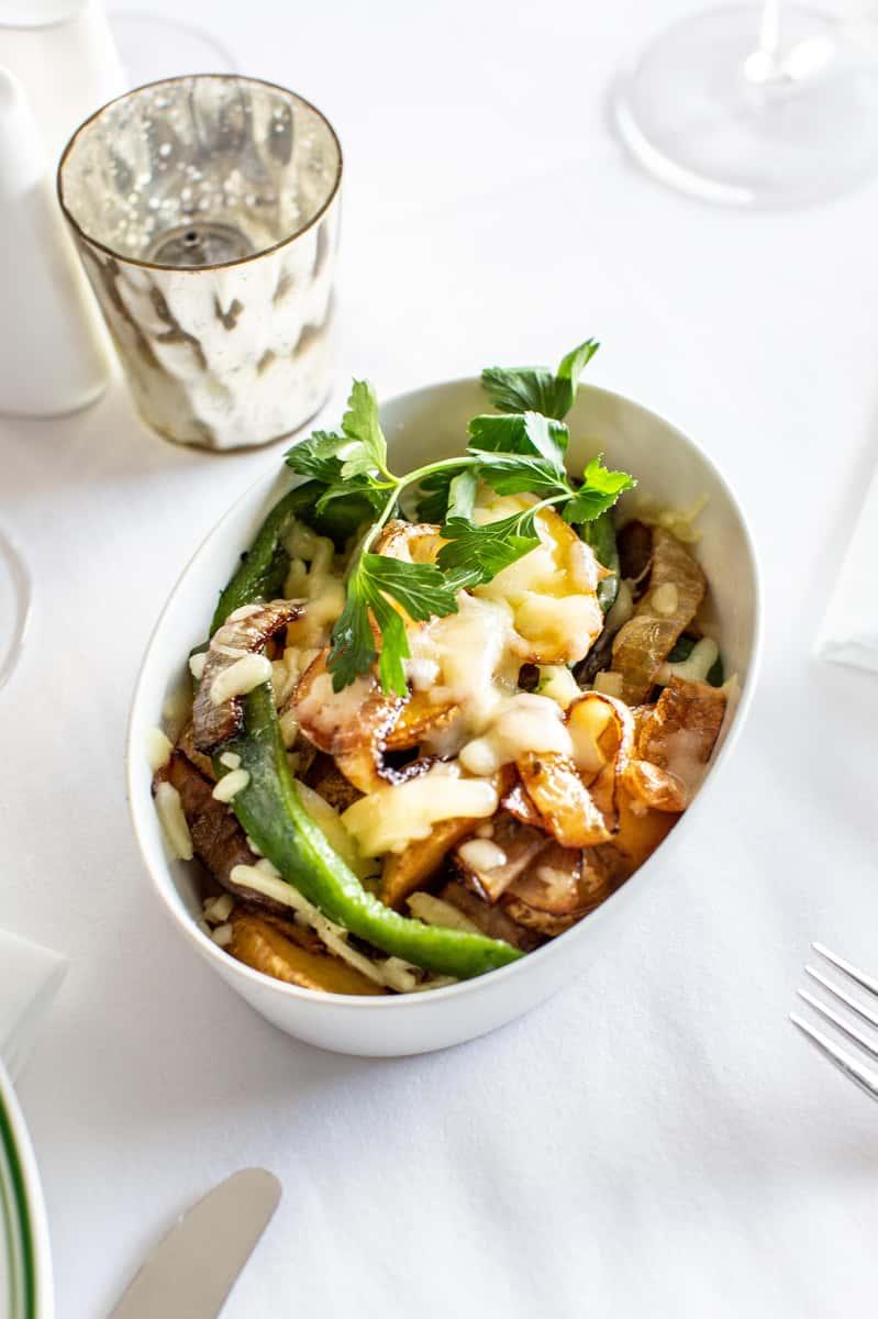 Roasted Potatoes & Onions
