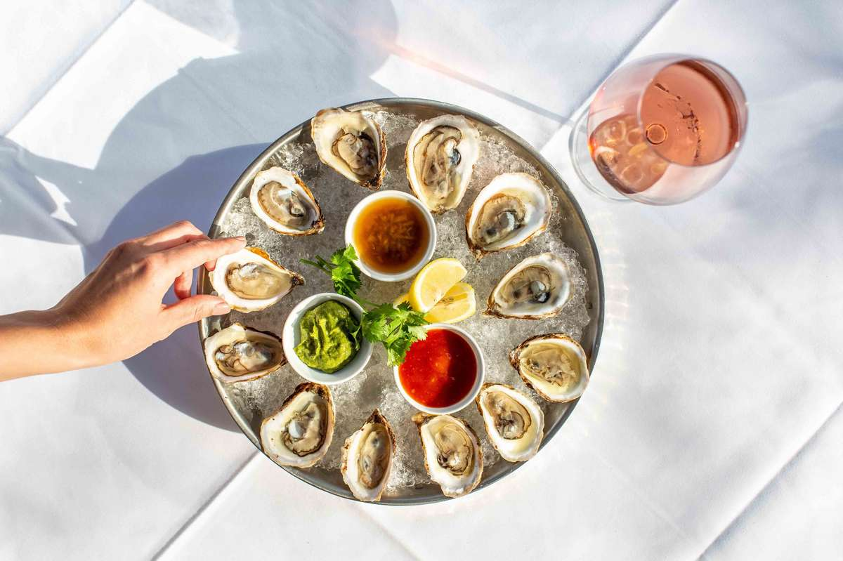 East Coast Oysters on The Half Shell*