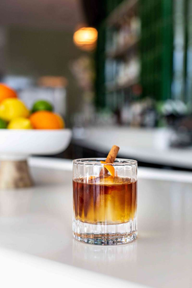Campfire Old Fashioned
