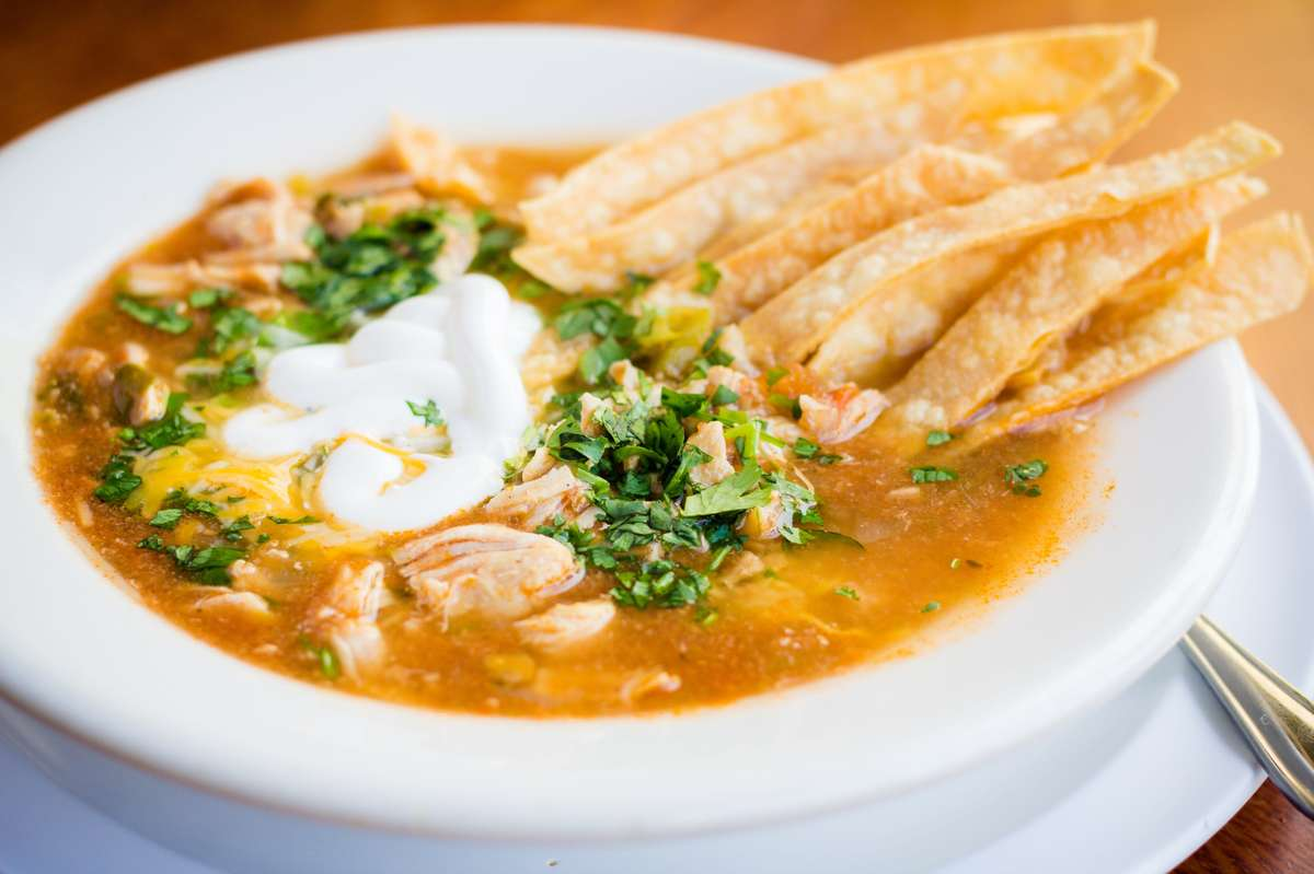 Nanas Chicken Tortilla Soup