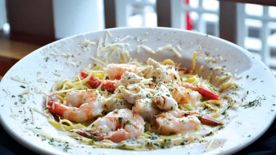 Crab & Shrimp Linguine