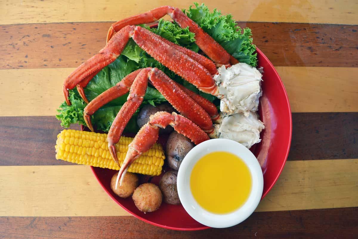 Bairdi Crab Dinner