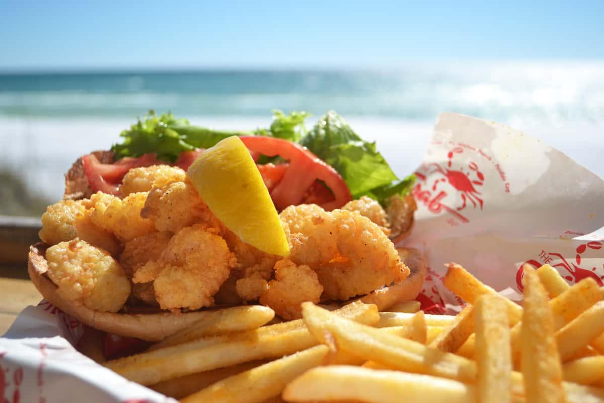 Fried Shrimp Po' Boy
