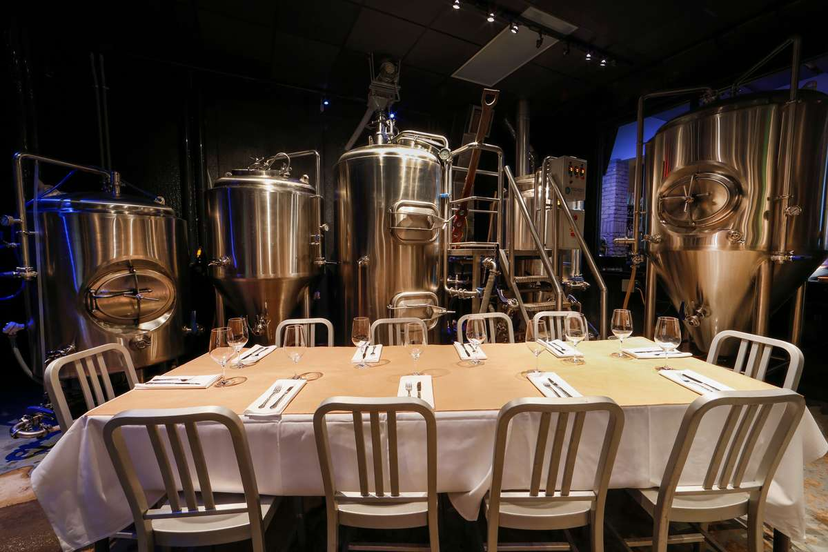 brewery table