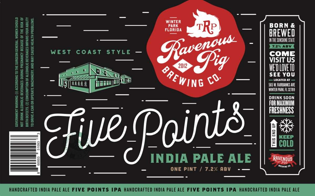 4 pack 5 Points IPA