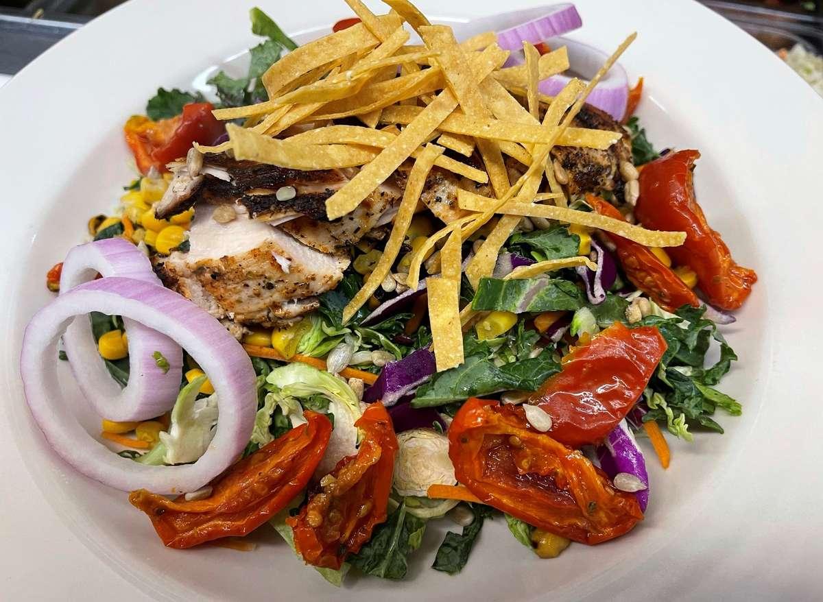 Late Summer Power Salad