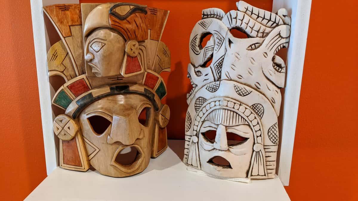 Decorative mexican masks