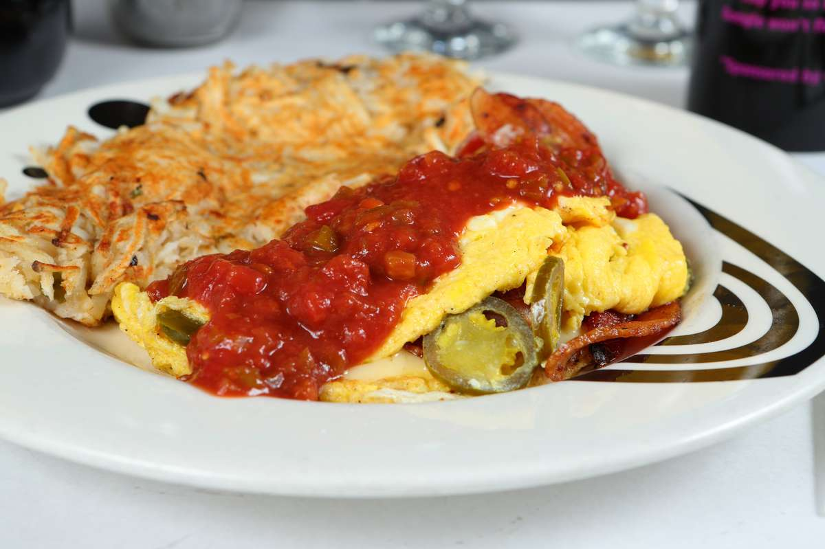 The Mad Mexican Omelet