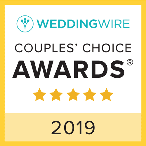 Wedding Wire 2019 Couples' Choice Award