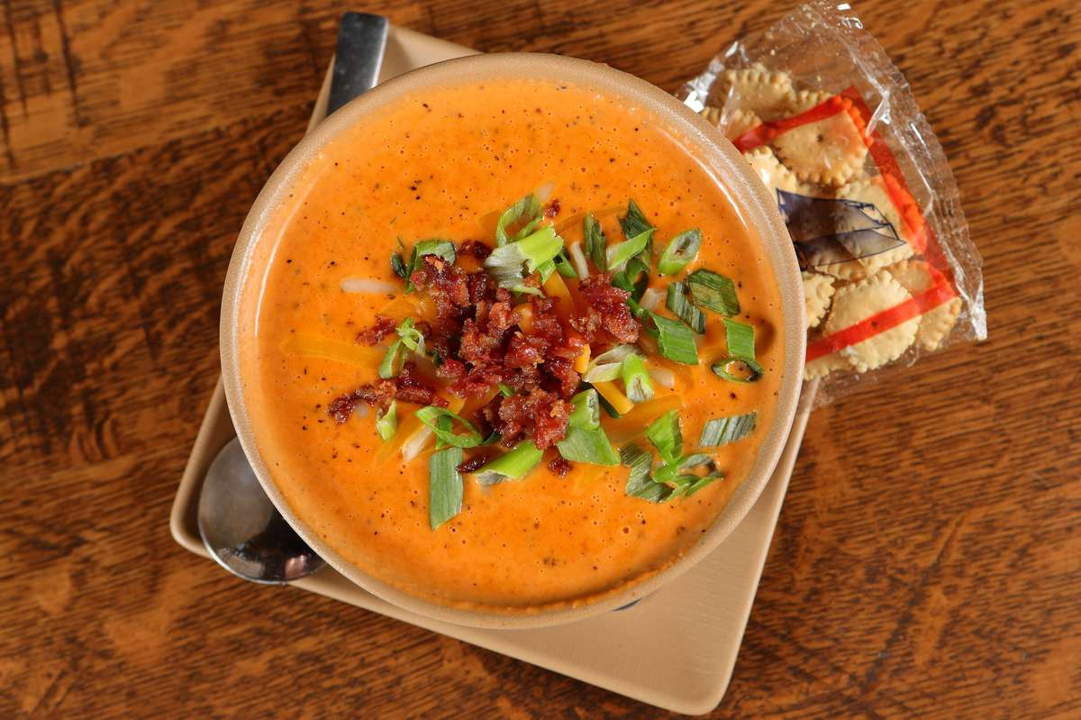 House-cured Bacon Tomato Bisque