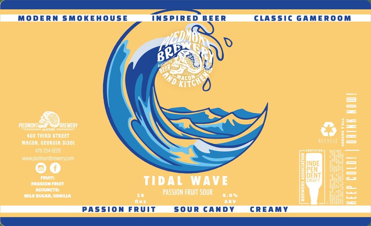 Tidal Wave Passionfruit Smoothie Sour