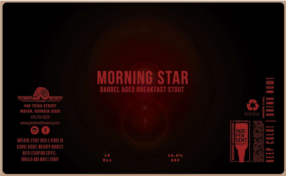 Morning Star George Dickel Barrel-Aged Breakfast Stout