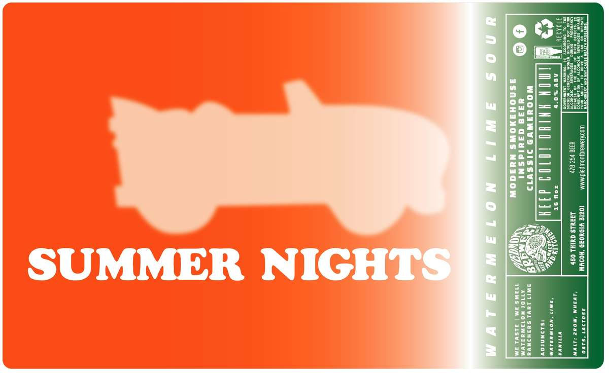 Summer Nights Watermelon / Key Lime Sou