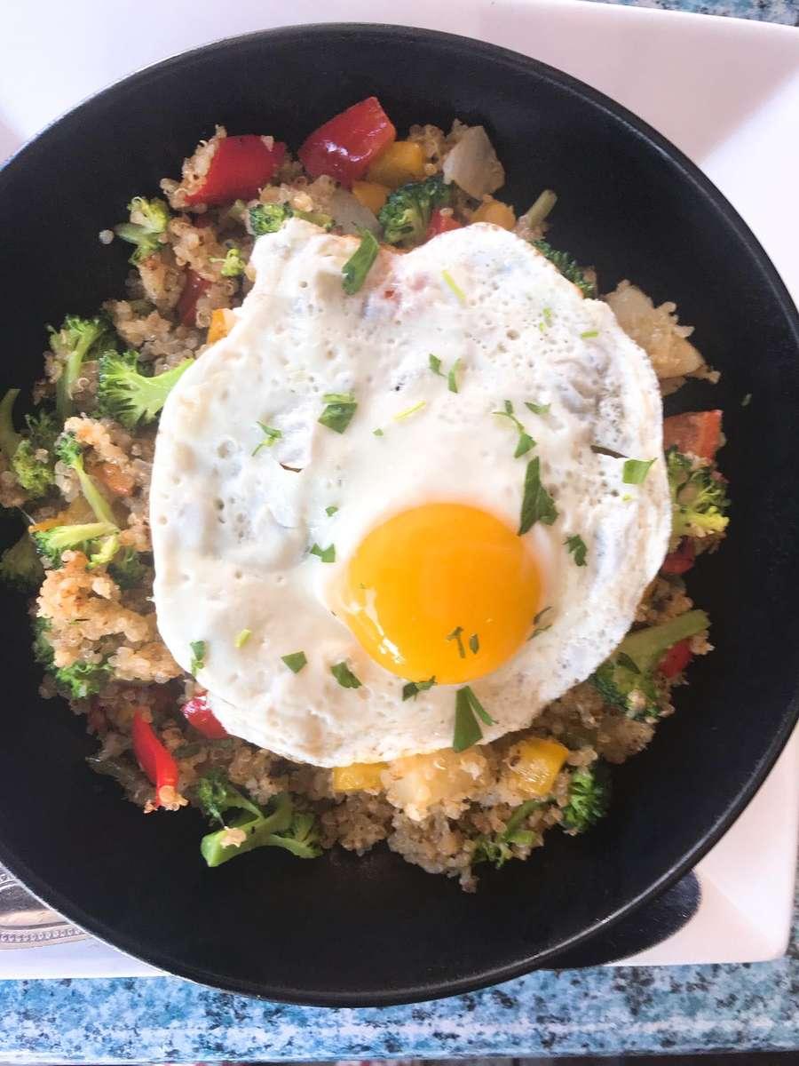 Quinoa and Egg Bowl