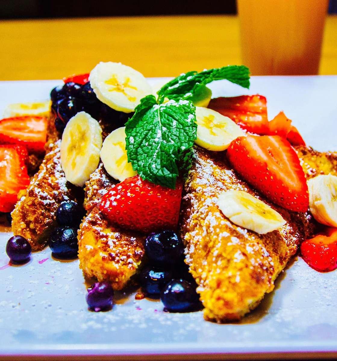 Wild Blueberry, Banana & Strawberry