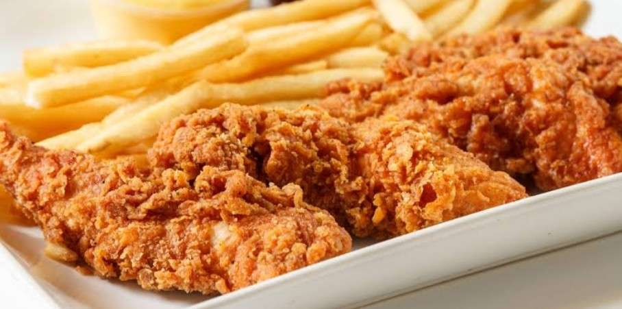 Chicken Tenders with Fries or Fruit