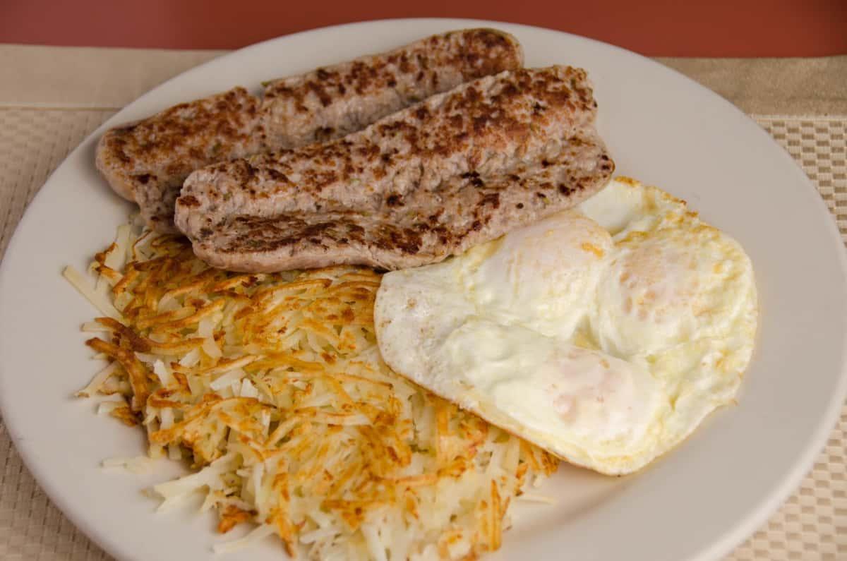 Three Egg Breakfast