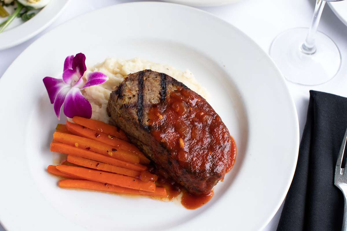 Ouisie's Meatloaf with Chipotle Ketchup