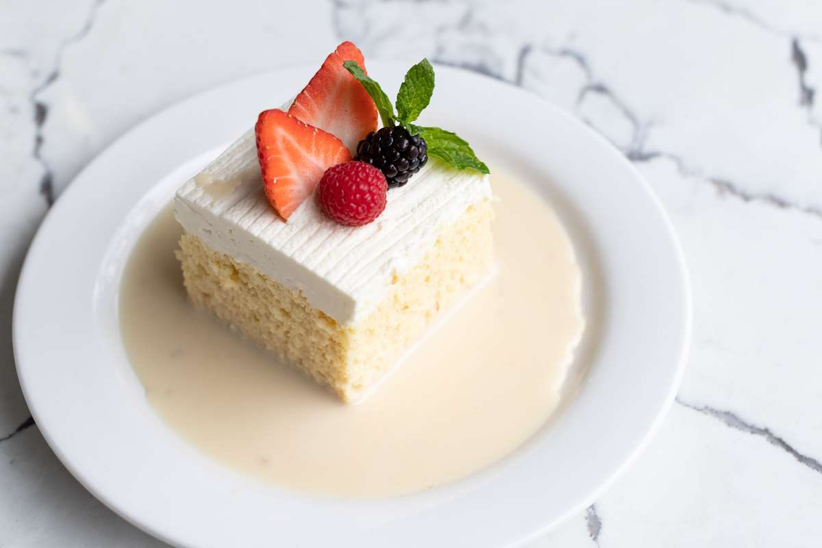 Tres Leches Cake - TO GO ONLY