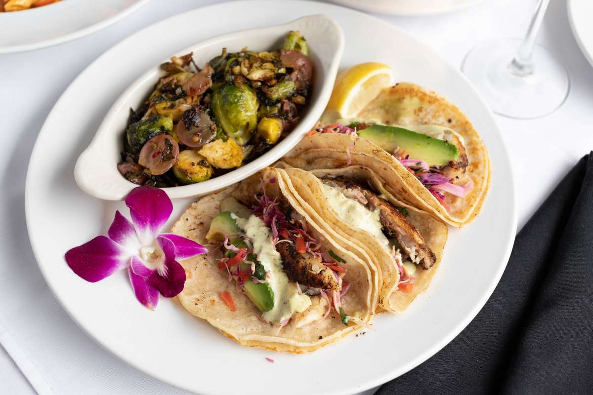 Seared Snapper Tacos