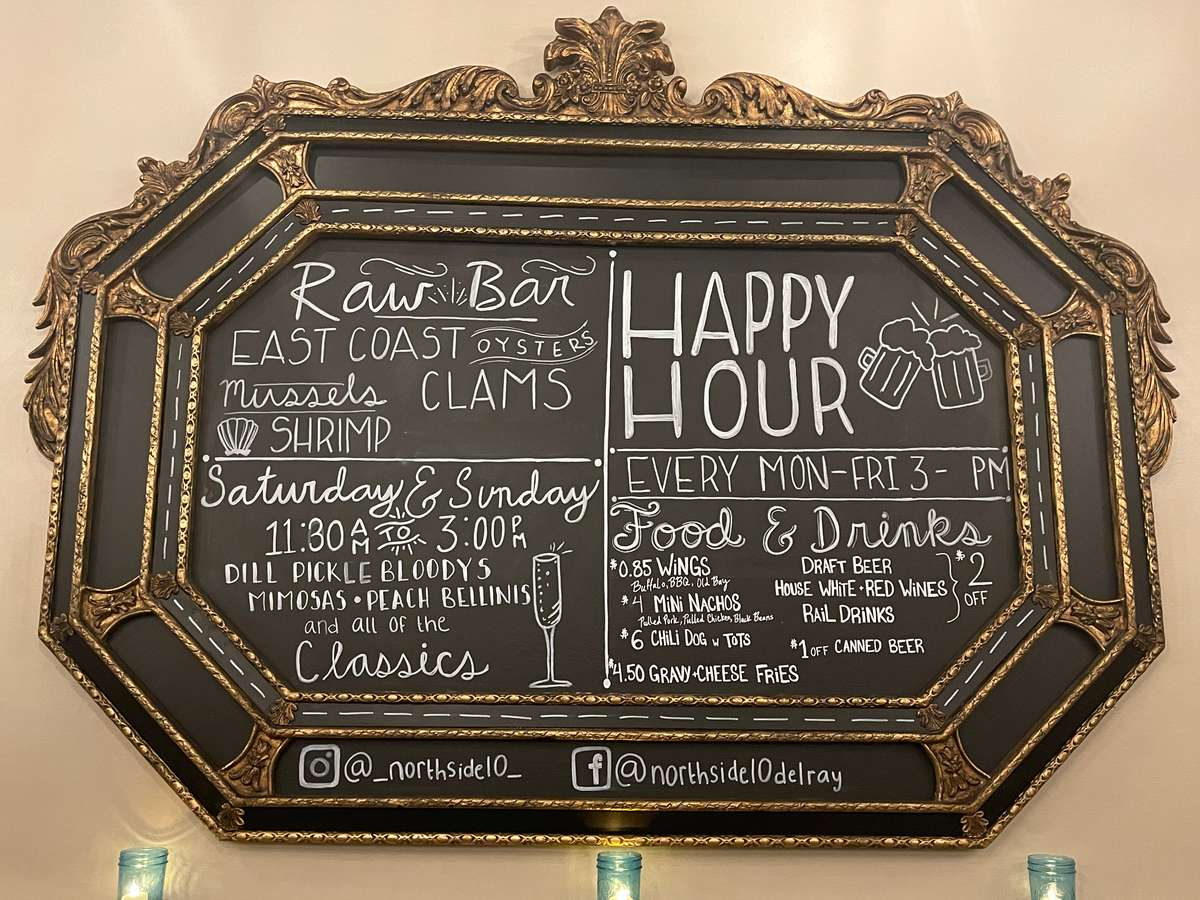 Happy Hour Board