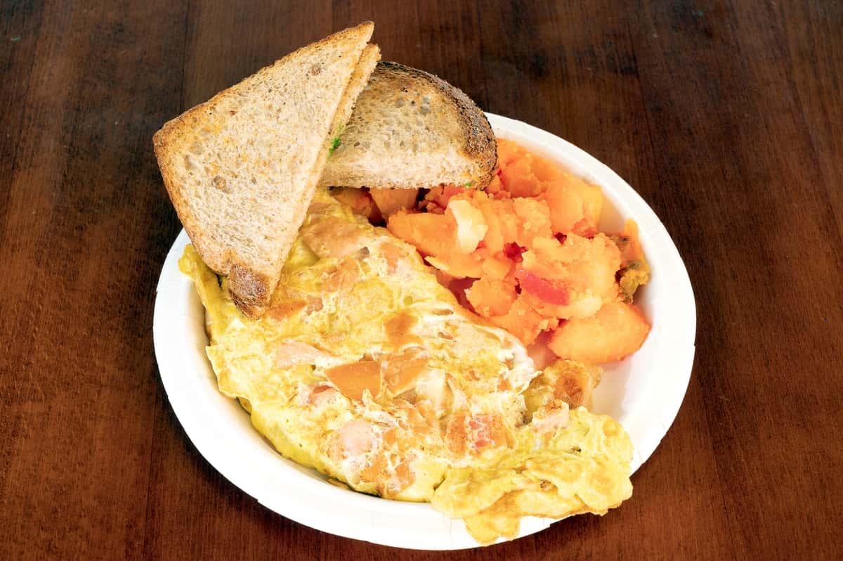 Nova 2 Eggs Omelet