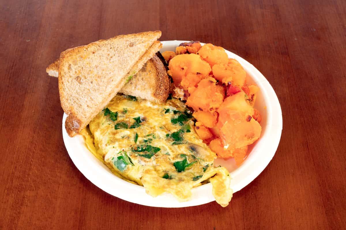 Garden 2 Eggs Omelet