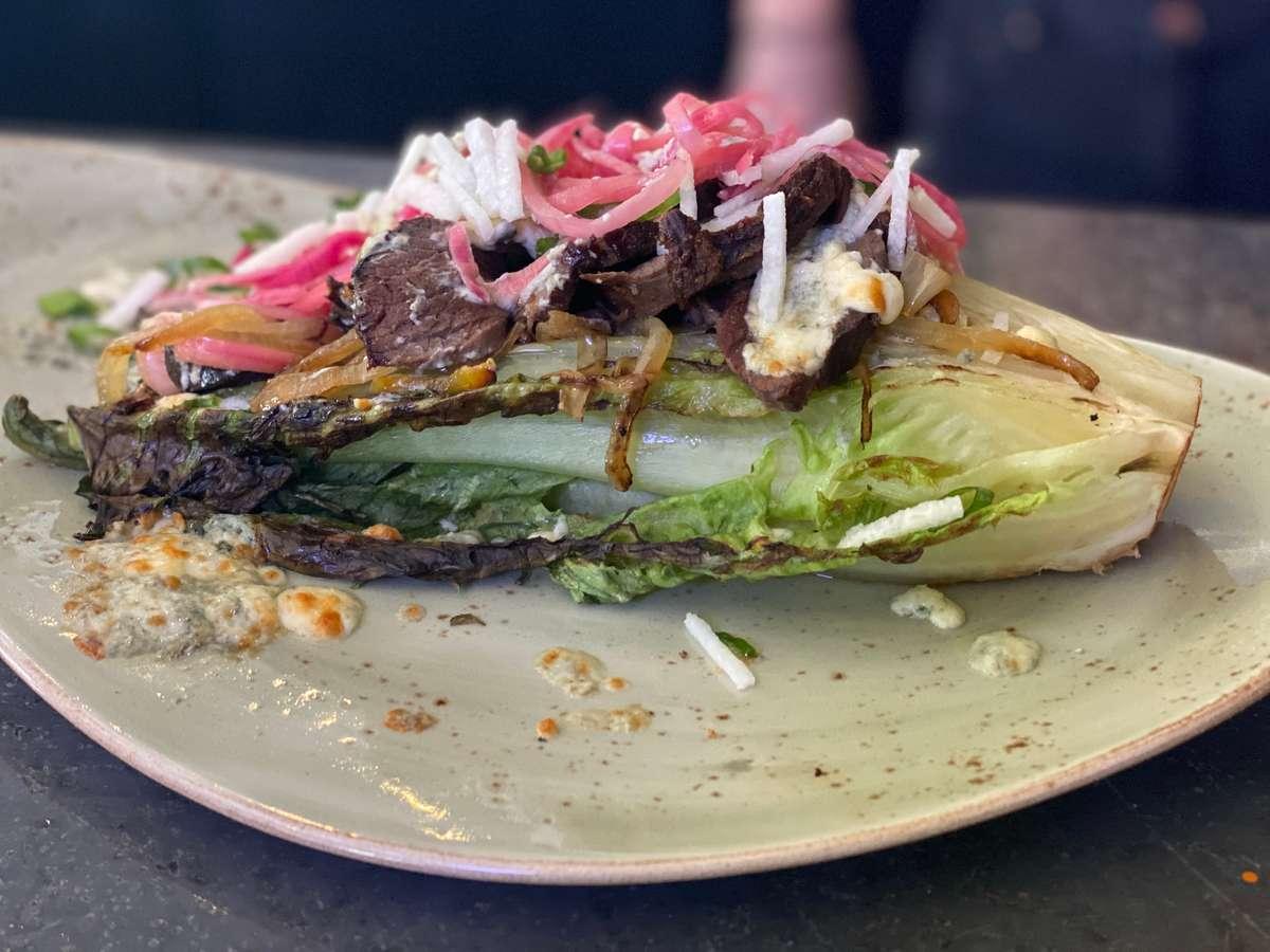Emu Steak Salad