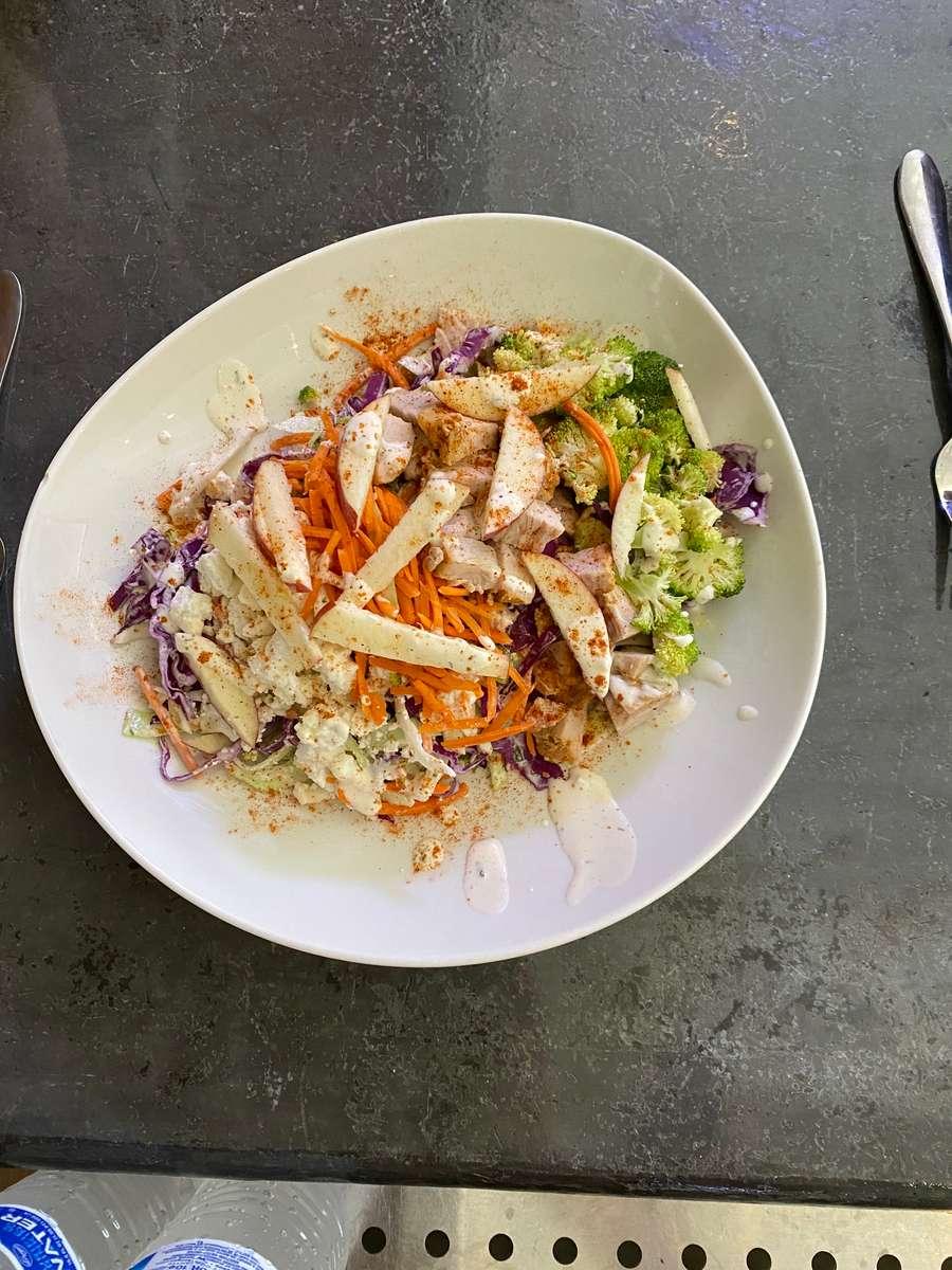 Texas Turkey Cabbage Salad