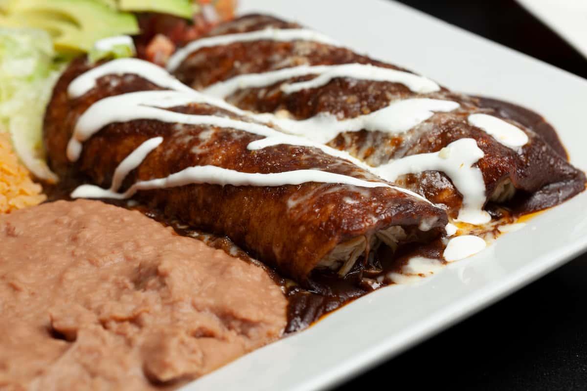 Mole Enchiladas (2pc)
